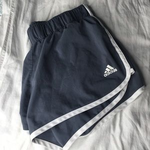 ADIDAS 3 Strike Blue Athletic Shorts